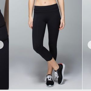 Lululemon | run inspire crop II | all luxtreme